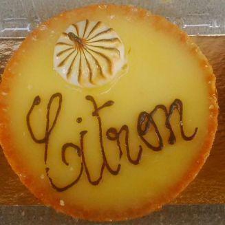 Judi Castille Citron lemon tart