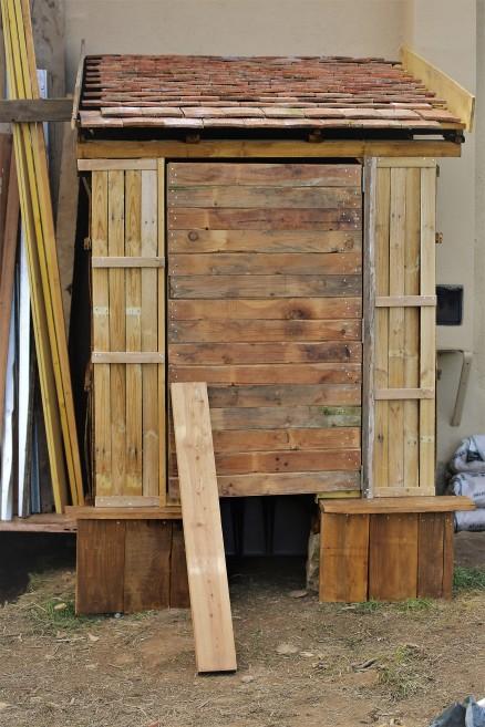 Judi Castille woodshed