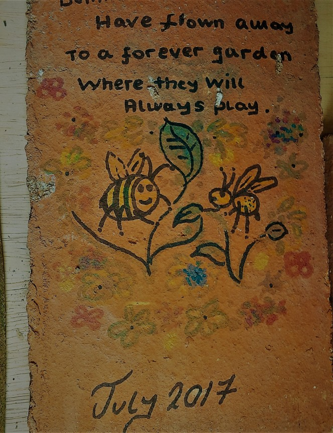 Judi Castille Bee memorial tile