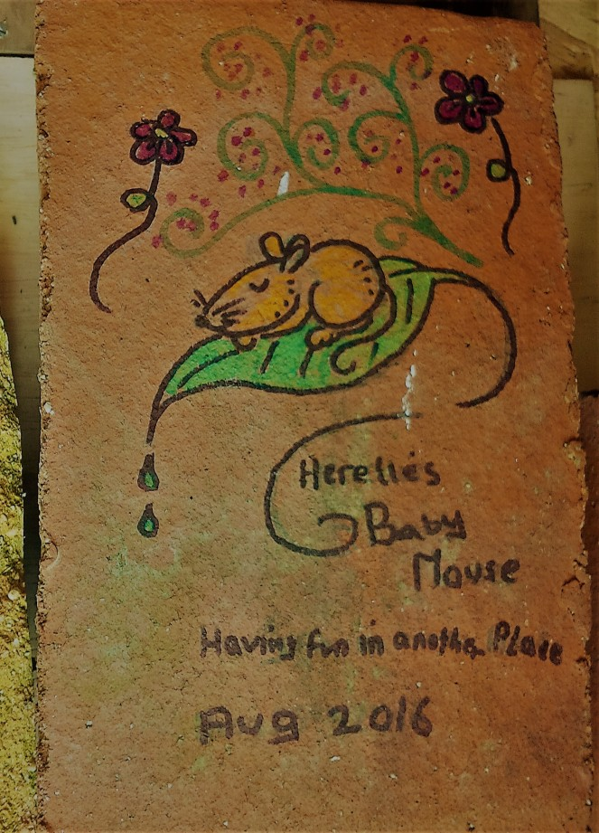 Judi Castille Little Mouse Memorial tile
