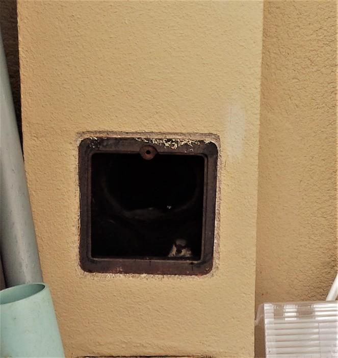 Judi Castille Trapped in the chimney