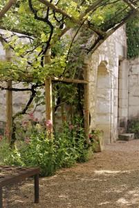 Judi Castille Chateau Du Rivau gazeebo planting