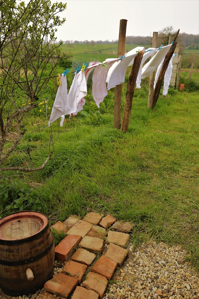 Judi Castille Washing in the breeze