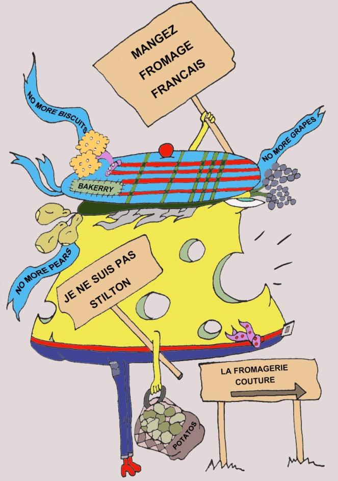 Judi Castille La Fromage revolution