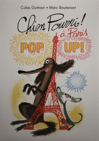 Judi Castille Pop up Chien book