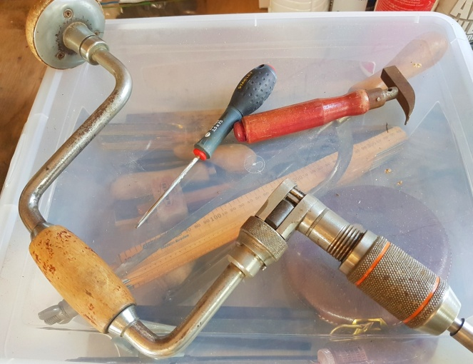 Judi Castille my Dads old tools
