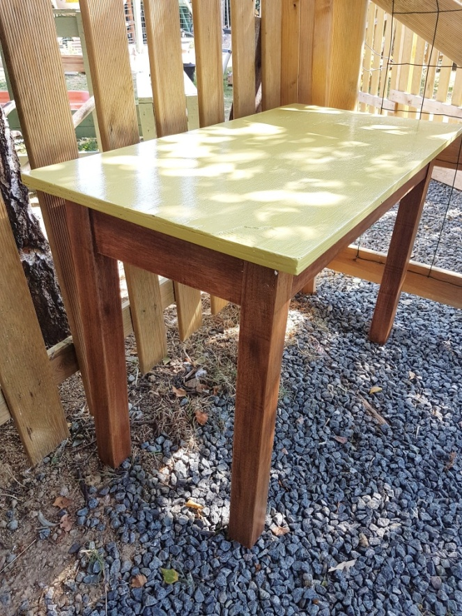 Judi Castille Oak secondhand table